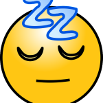 Sleeping graphic