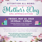 Mothers Day Spa Event Flyer